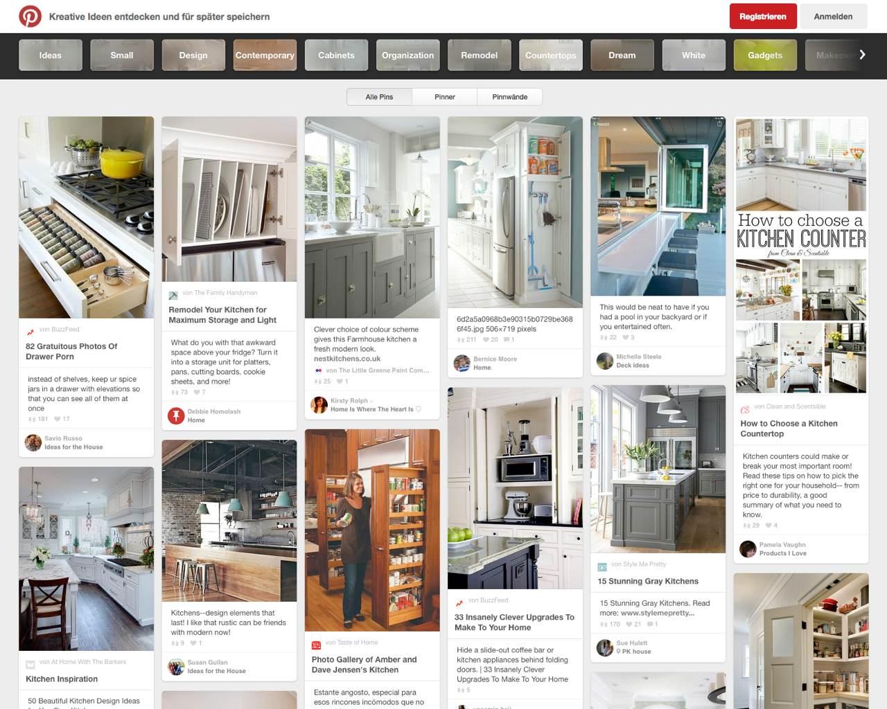 neue ideen f r ihre k che. Black Bedroom Furniture Sets. Home Design Ideas